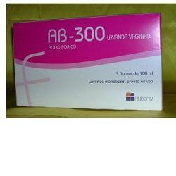 AB 300 LAVANDA VAGINALE 5 FLACONI DA 140ML
