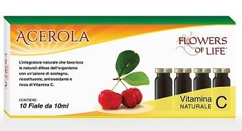 ACEROLA 10 FLACONCINI