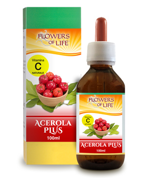 ACEROLA PLUS 100ML FLOWERS OF LIFE