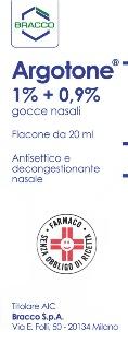 ARGOTONE GOCCE RINOLOGICHE 20 ML