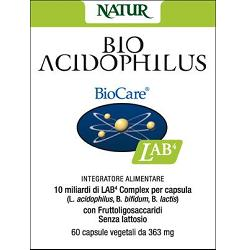 BIO ACIDOPHILUS 60CPS VEG363MG