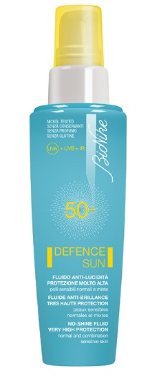 BIONIKE DEFENCE SUN 50+ fluido anti lucidità 50ml