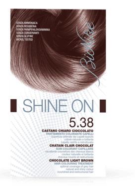 BIONIKE SHINE ON - CASTANO CHIARO CIOCCOLATO  5.38