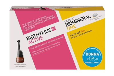 BIOTHYMUS KIT 10 FIALE DONNA + 30 COMPRESSE