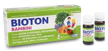 BIOTON BAMBINI 14 FLACONCINI