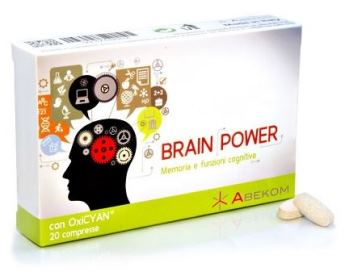 BRAIN POWER 20 COMPRESSE