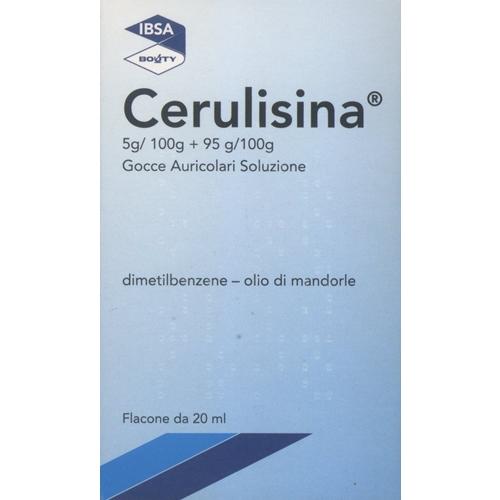 CERULISINA GOCCE ORECCHIO 20 ML