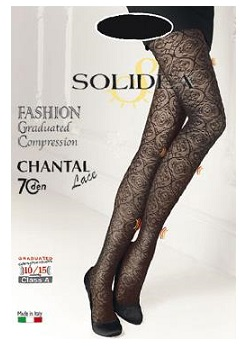 CHANTAL 70 LACE NERO taglia 1-S