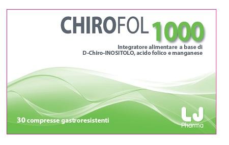 CHIROFOL 1000 16 COMPRESSE