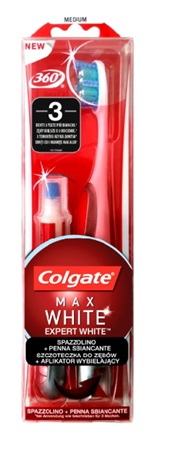 COLGATE EXPERT WHITE SPAZZOLINO+PENNA SBIANCANTE