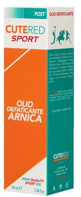 CUTERED SPORT OLIO DEFATICANTE ARNICA