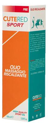 CUTERED SPORT OLIO MASSAGGIO RISCALDANTE 100ML