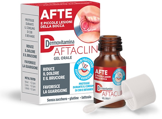 DERMOVITAMINA AFTACLIN GEL 7ML