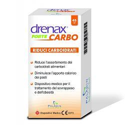 DRENAX FORTE CARBO 45 COMPRESSE