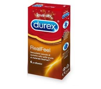 DUREX REALFEEL 6 PEZZI