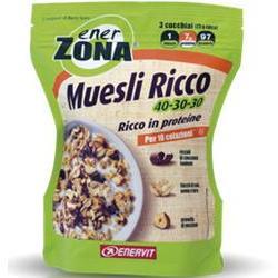 ENERZONA MUESLI RICCO 40-30-30 230GR