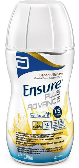 ENSURE PLUS ADVANCE BANANA 4 FLACONCINI DA 220ML