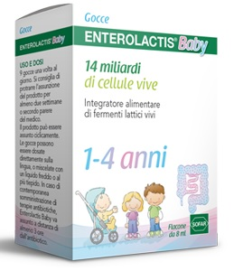 ENTEROLACTIS BABY GOCCE 8ML