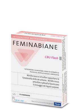 FEMINABIANE CBU FLASH 6 COMPRESSE