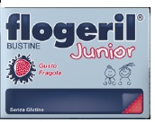 FLOGERIL JUNIOR FRAGOLA 20 BUSTE