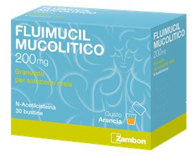 FLUIMUCIL MUCOLITICO 30 BUSTE 200 MG
