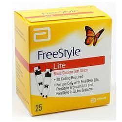 FREESTYLE LITE GLICEMIA 25 STRISCE