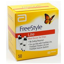 FREESTYLE LITE GLICEMIA 50 STRISCE