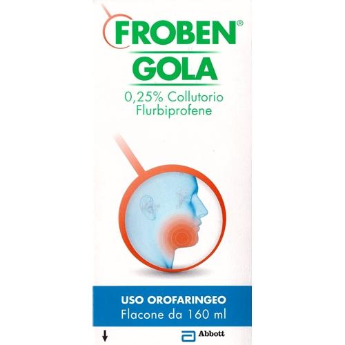 FROBEN GOLA COLLUTTORIO 160 ML 0,25%