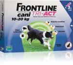FRONTLINE TRI-ACT BLU CANI TRA 10 E 20 KG 3 PIPETTE