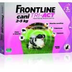 FRONTLINE TRI-ACT ROSA CANI DA 2 A 5 KG 3 PIPETTE