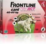 FRONTLINE TRI-ACT ROSSO CANI DA 40 A 60 KG 3 PIPETTE