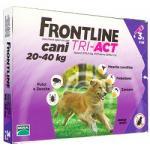 FRONTLINE TRI-ACT VIOLA CANI TRA 20 E 40 KG 3 PIPETTE