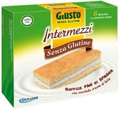 GIUSTO SENZA GLUTINE INTERMEZZI 180G