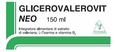 GLICEROVALEROVIT NEO SCIROPPO 150 ML