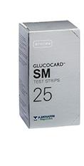 GLUCOCARD SM TEST 25 STRISCE