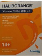 HALIBORANGE VITAMINA D3 2000UI  60 COMPRESSE