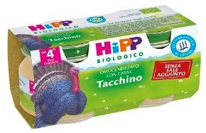 HIPP BIO OMOGENIZZATO TACCHINO 80G 2 pezzi