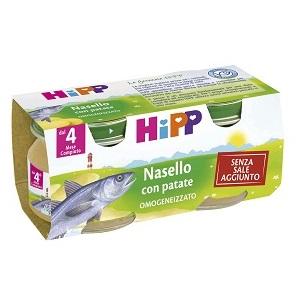 HIPP OMOGENIZZATO NASELLO-PATATE 80G 2 PEZZI