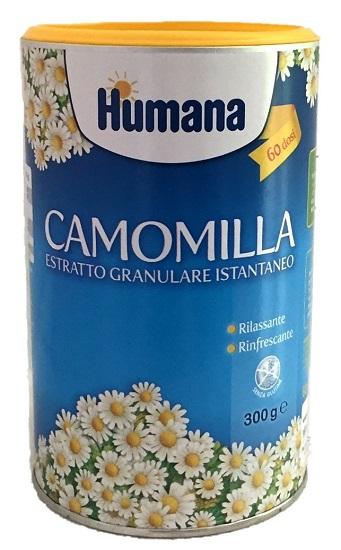 HUMANA CAMOMILLA GRANULARE 300 GRAMMI
