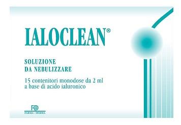 IALOCLEAN SOLUZIONE DA NEBULIZZARE 15 FLACONCINI 2 ML