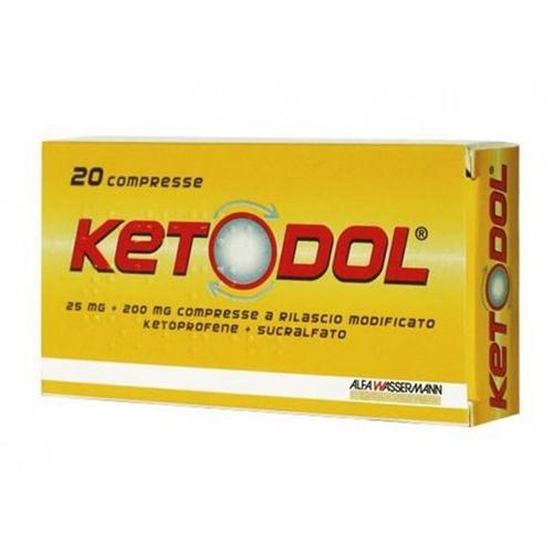KETODOL 20 COMPRESSE