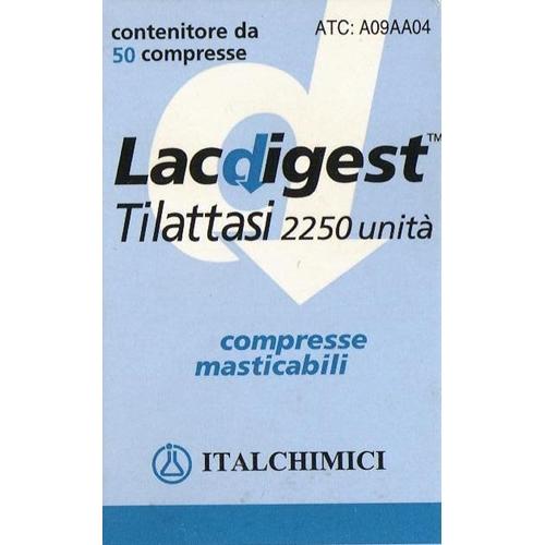 LACDIGEST 50 COMPRESSE MASTICABILI