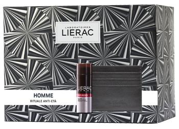 LIERAC Homme Anti-Rughe + Porta Carte