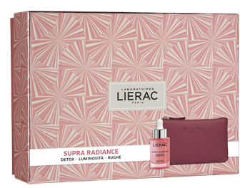 LIERAC Supra Radiance Siero + Cofanetto + Pochette