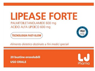 LIPEASE FORTE 20 BUSTE OROSOLUBILI