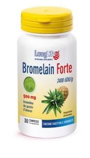 LONGLIFE BROMELAIN FORTE 30 TAVOLETTE BROMELINA