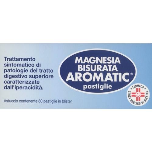 MAGNESIA BISURATA AROMATICA 80 PASTIGLIE