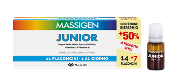 MASSIGEN JUNIOR 21 FLACONCINI