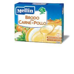 MELLIN BRODO CARNE POLLO 10BUSTE