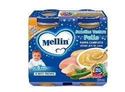 MELLIN SEMOLINO POLLO-VERDURE 2X200 GRAMMI